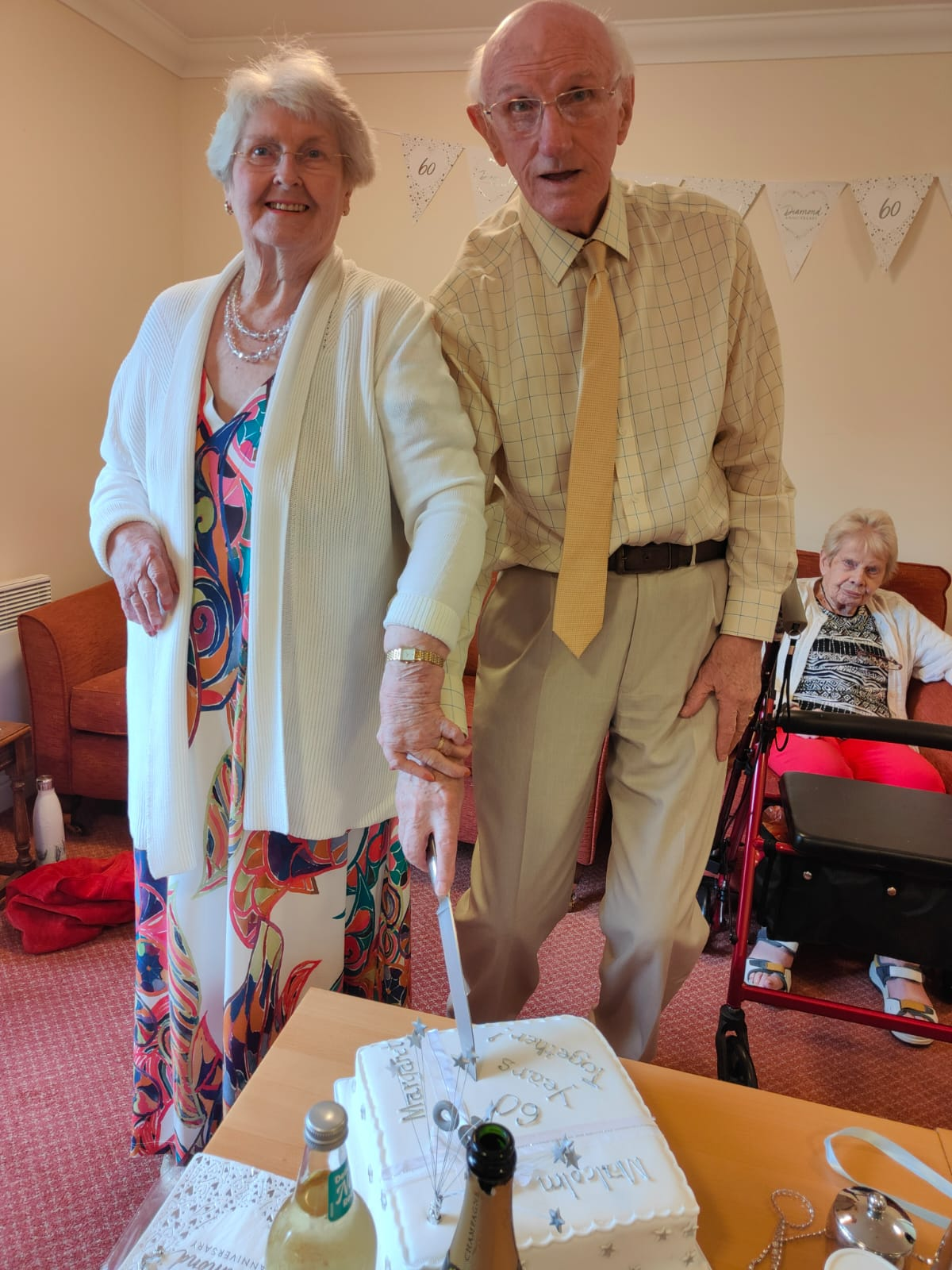 Mr and Mrs Jacksons diamond wedding anniversary !!!