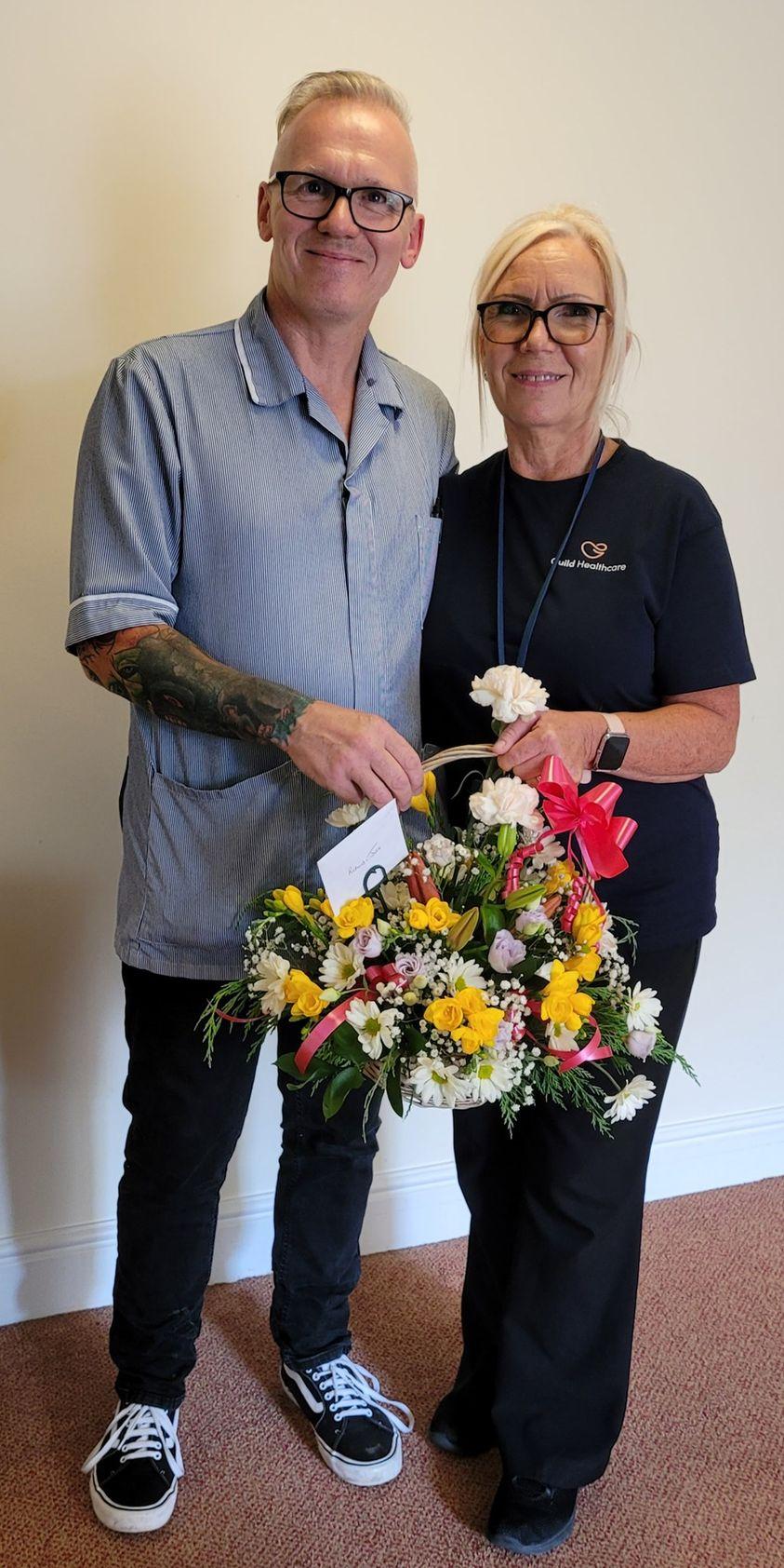 Happy Wedding Anniversary to Richard and Julie! 💍🥰