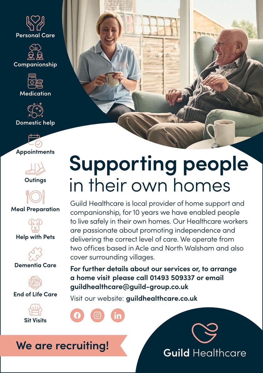 Supporting People in their own homes !!!